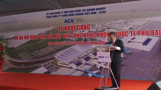 Cienco 4 bắt đầu thi công gói thầu gần 500 tỷ đồng tại sân bay Phú Bài - ảnh 2