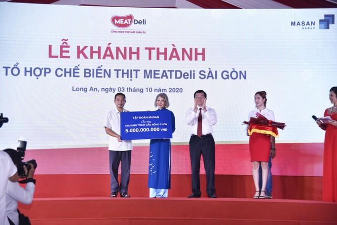 Tập đoàn Masan đóng góp gần 30 tỷ đồng cho các hoạt động an sinh xã hội - ảnh 5
