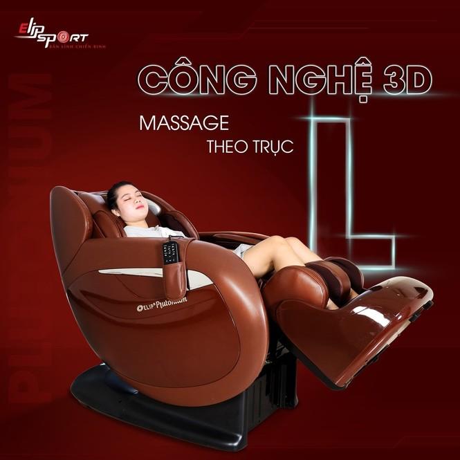 Ghế massage ELIP trang bị 12 tính năng massage cao cấp, độc quyền mẫu mã - ảnh 1