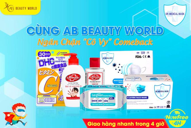 AB Beauty World tặng 5.000 hộp khẩu trang mừng chi nhánh 6 - ảnh 7