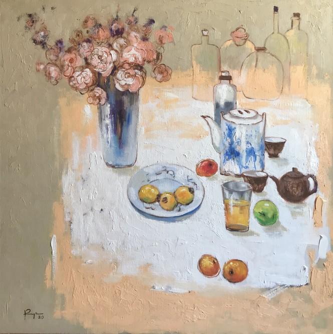 Triển lãm 'Đông' của 5 họa sĩ - ảnh 3