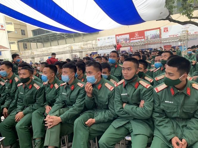 Trung tâm đào tạo và hướng nghiệp Tiền Phong tư vấn hướng nghiệp cho bộ đội xuất ngũ - ảnh 2