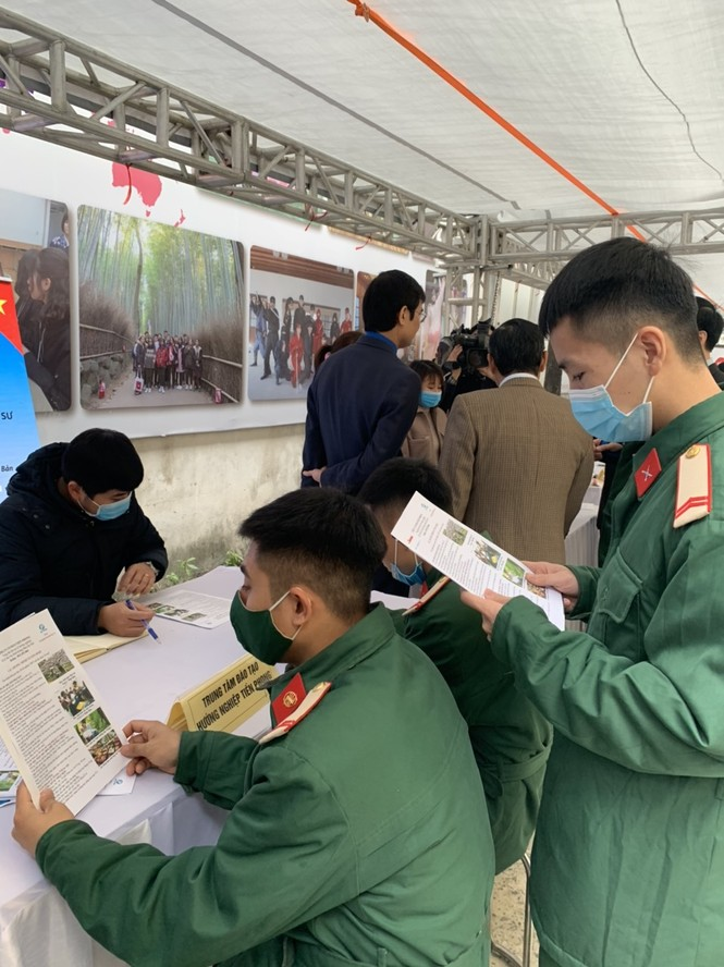 Trung tâm đào tạo và hướng nghiệp Tiền Phong tư vấn hướng nghiệp cho bộ đội xuất ngũ - ảnh 3
