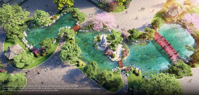 """""""Bộ tứ sắc xanh"""" độc đáo có 1-0-2 của thành phố biển hồ Vinhomes Ocean Park - ảnh 5"""
