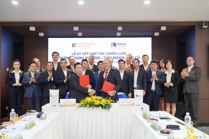 Tập đoàn Hưng Thịnh ký kết hợp tác chiến lược cùng Tập đoàn Đèo Cả - ảnh 1