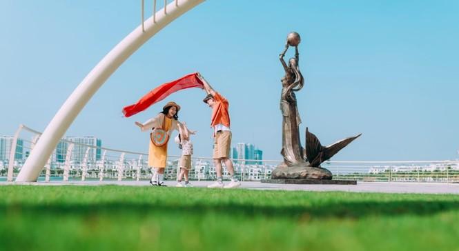 Cận cảnh nhịp sống sôi động tại Đại đô thị hot hàng đầu phía Đông Hà Nội - ảnh 1