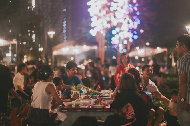 Cận cảnh nhịp sống sôi động tại Đại đô thị hot hàng đầu phía Đông Hà Nội - ảnh 3