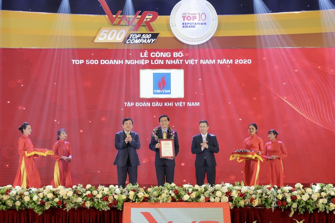 Petrovietnam duy trì vị trí hàng đầu các Doanh nghiệp lớn nhất Việt Nam - ảnh 1