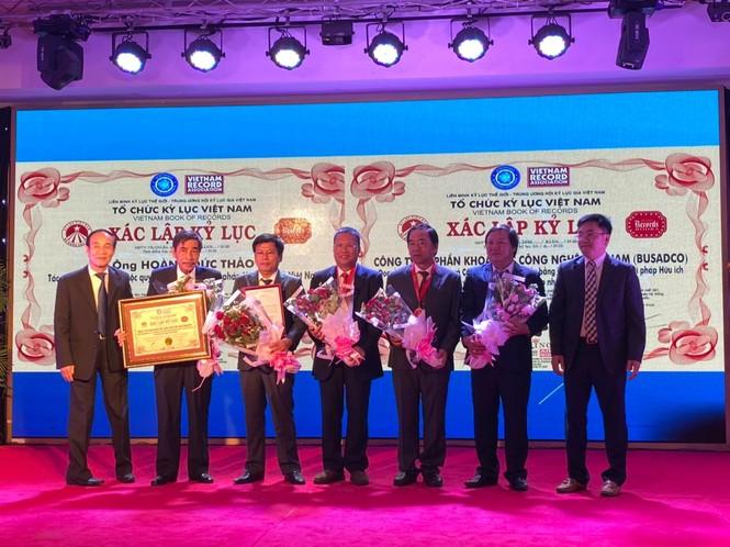 Công ty Busadco và ông Hoàng Đức Thảo đón nhận kỷ lục thế giới về Khoa học công nghệ - ảnh 3