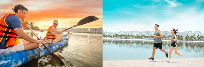 """Trải nghiệm mùa đông đầu tiên tại """"Thành phố biển hồ"""" giữa lòng Hà Nội - ảnh 2"""