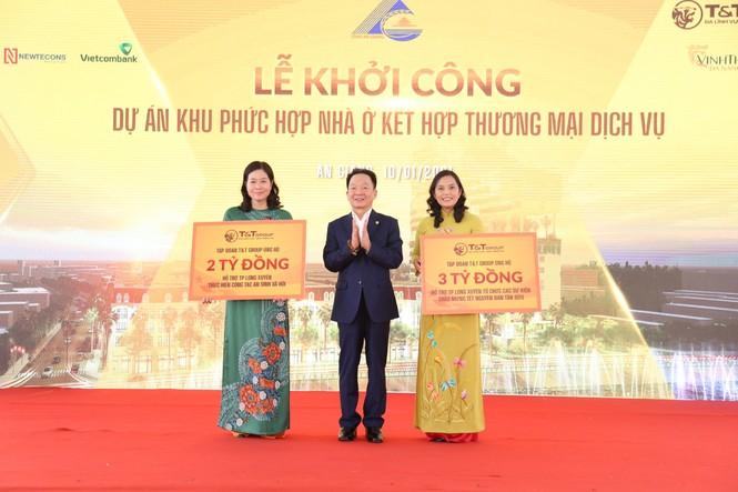 T&T Group khởi công khu phức hợp nhà ở - Thương mại dịch vụ tại trung tâm TP Long Xuyên - ảnh 2