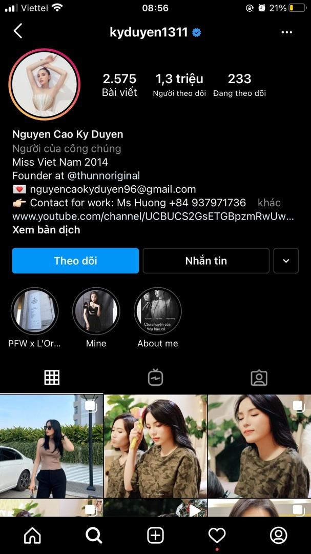 Top 3 Hoa hậu Việt Nam sở hữu lượng fan 'khủng' trên Instagram - ảnh 1