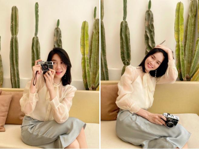 Những hình ảnh đời thực giản dị và xinh đẹp của Top 3 Hoa Hậu Việt Nam 2020 - ảnh 7