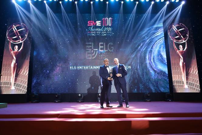 Tập đoàn ELG Group nhận giải thưởng SME100 Châu Á 2020 - ảnh 1