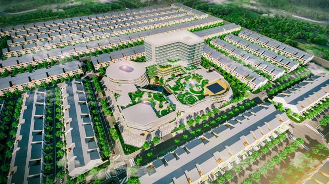 Dấu ấn kinh tế và cộng đồng bên trong tổ hợp thương mại sầm uất bậc nhất Bình Phước - ảnh 2
