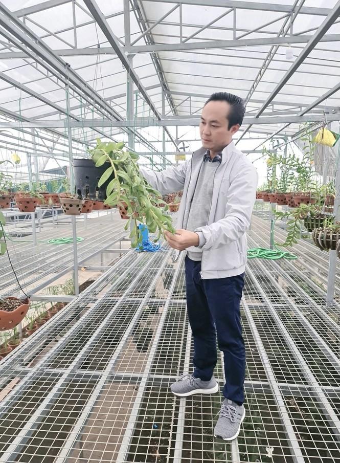 Nghệ nhân Minh Xa chia sẻ bí quyết chăm sóc hoa lan - ảnh 2