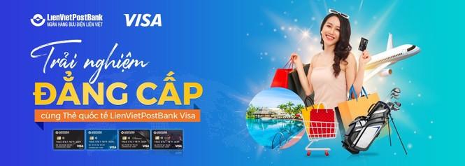 Ra mắt thẻ quốc tế LienVietPostBank Visa - ảnh 1