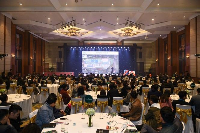 Sự kiện giới thiệu dự án Hado Charm Villas thu hút hàng trăm khách hàng - ảnh 1