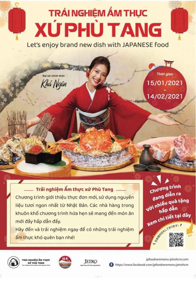 Sự kiện 'Trải nghiệm ẩm thực xứ Phù Tang': Nơi hội tụ nhiều món ăn Nhật Bản mới lạ - ảnh 1