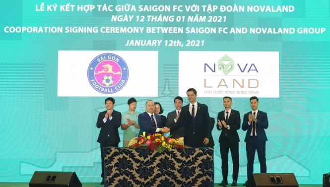 Novaland tài trợ cho Câu lạc bộ Sài Gòn FC - ảnh 1
