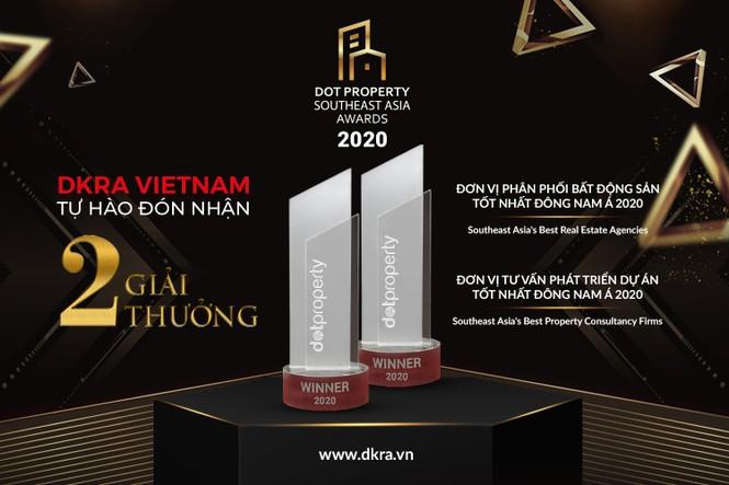 DKRA VietNam đón nhận bộ đôi giải thưởng danh giá Đông Nam Á - ảnh 1