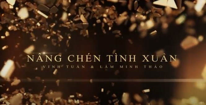 Lâm Minh Thảo và Vinh Tuấn ra mắt album 'Nâng chén tình Xuân' - ảnh 1