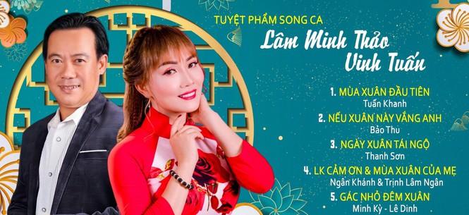 Lâm Minh Thảo và Vinh Tuấn ra mắt album 'Nâng chén tình Xuân' - ảnh 2