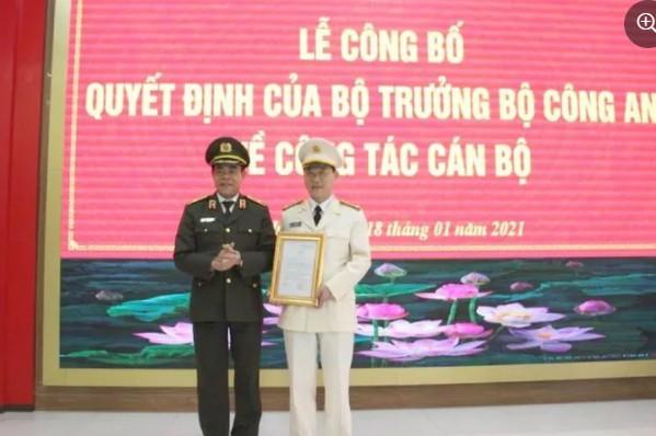 Bổ nhiệm phó giám đốc Công an tỉnh Nghệ An - ảnh 1