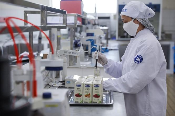 Vinamilk 'xông đất' 2021 với lô hàng lớn gồm sữa hạt và sữa đặc xuất khẩu đi Trung Quốc - ảnh 4