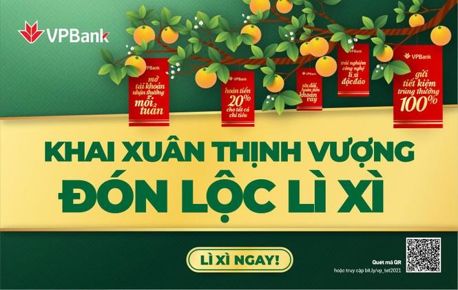 Đón xuân thịnh vượng, VPBank tặng hơn 140.000 phần quà cho khách hàng - ảnh 1
