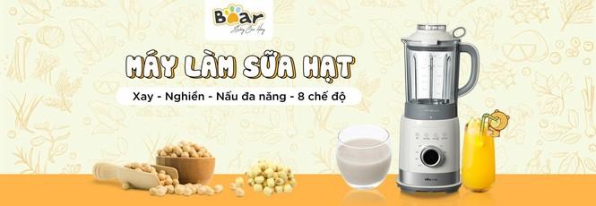Gia dụng Bear hot top 3 Trung Quốc có đại lý chính hãng tại Việt Nam - ảnh 1