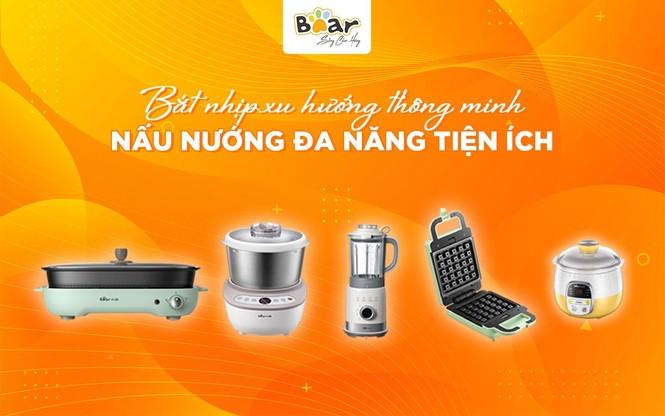 Gia dụng Bear hot top 3 Trung Quốc có đại lý chính hãng tại Việt Nam - ảnh 2