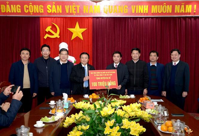 PV GAS tham gia đoàn công tác của Học viện Chính trị Quốc gia Hồ Chí Minh đến Bắc Kạn - ảnh 2