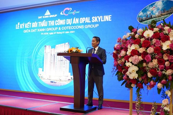 Tập đoàn Đất Xanh và Coteccons bắt tay xây dựng dự án Opal Skyline - ảnh 2