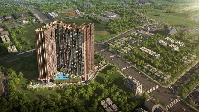 Tập đoàn Đất Xanh và Coteccons bắt tay xây dựng dự án Opal Skyline - ảnh 3