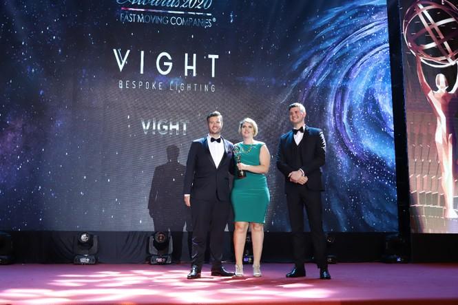 Vight Limited - Công ty đèn chiếu sáng duy nhất được vinh danh giải thưởng SME100 Châu Á - ảnh 1