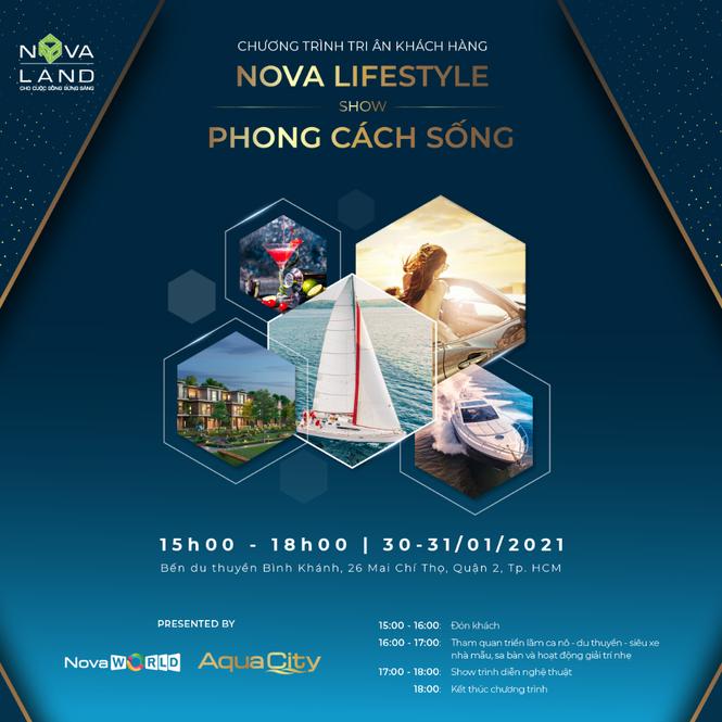 """Novaland tổ chức sự kiện """"Nova Lifestyle – Show Phong Cách Sống"""" tri ân khách hàng - ảnh 1"""