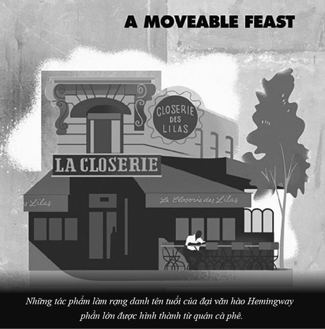 Kỳ 61: Ernest Miller Hemingway và những kiệt tác văn chương viết tại quán cà phê - ảnh 5