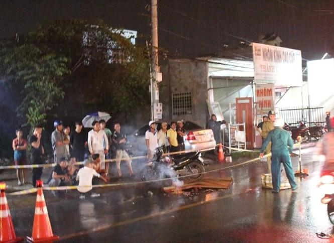 Bình Dương: Tai nạn giao thông trong đêm khiến 5 người thương vong - ảnh 1