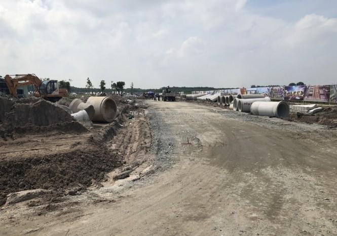 Bình Dương xử phạt dự án Golden Future City xây 'chui'  - ảnh 1