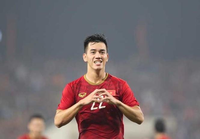 Ghi 2 bàn vào lưới Thái Lan, bố Tiến Linh muốn con trai là phiên bản Anh Đức - ảnh 1
