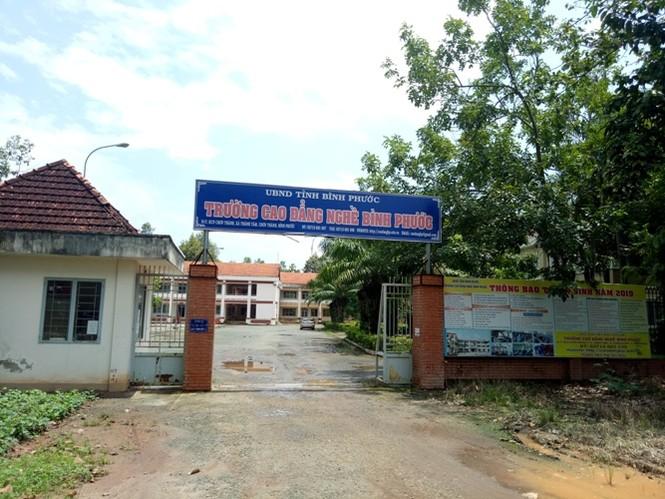 Thanh tra chỉ ra loạt sai phạm tại trường CĐ Nghề Bình Phước - ảnh 1