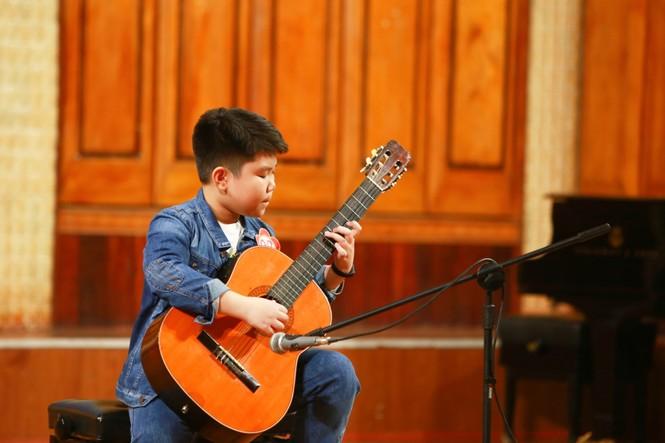 Chung kết cuộc thi 'Tìm kiếm tài năng Guitar trẻ năm 2019' - ảnh 4