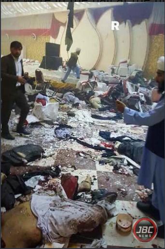 Nổ bom hội trường đám cưới khiến 123 người thương vong - ảnh 1