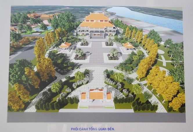 Chủ tịch Quốc hội dự khởi công công trình bảo tồn di tích lịch sử Lộ Vòng Cung - ảnh 1