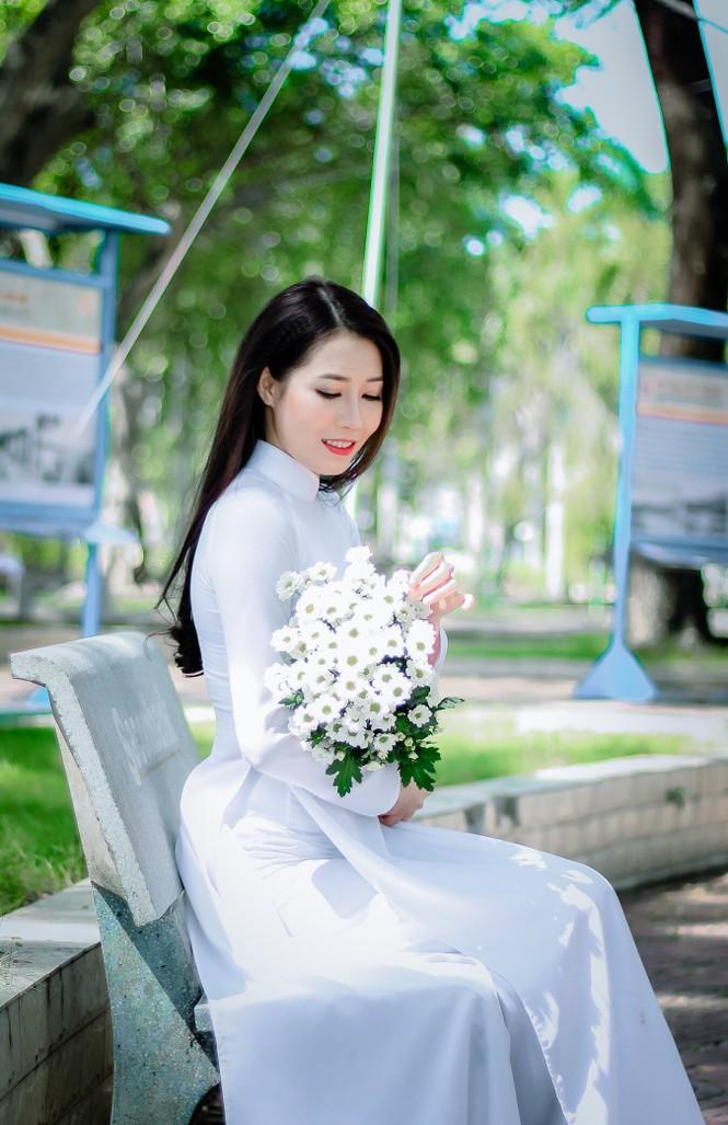 Vẻ đẹp ngọt ngào của nữ sinh đất Sen Hồng - ảnh 2