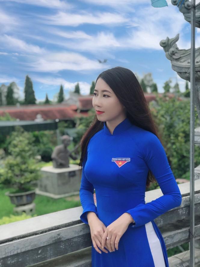 Vẻ đẹp ngọt ngào của nữ sinh đất Sen Hồng - ảnh 9