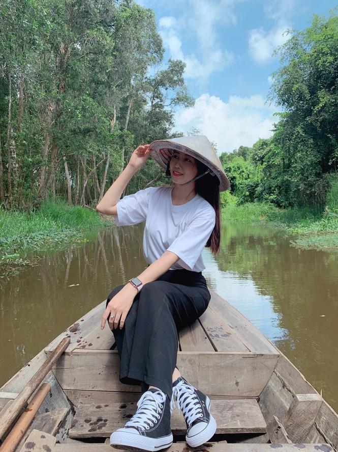 Vẻ đẹp ngọt ngào của nữ sinh đất Sen Hồng - ảnh 10