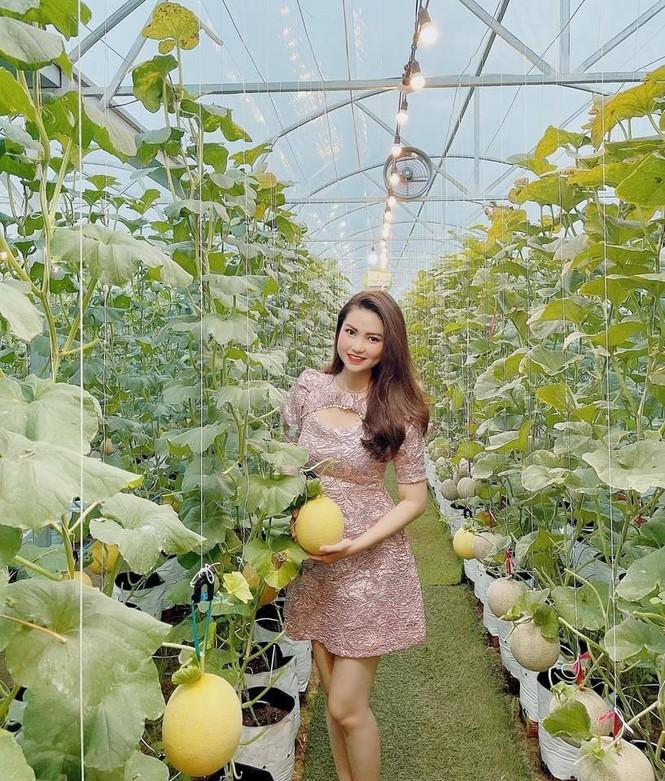 Mê mẩn vườn dưa lưới ở Cần Thơ thu hút đông bạn trẻ check-in dịp Tết - ảnh 8