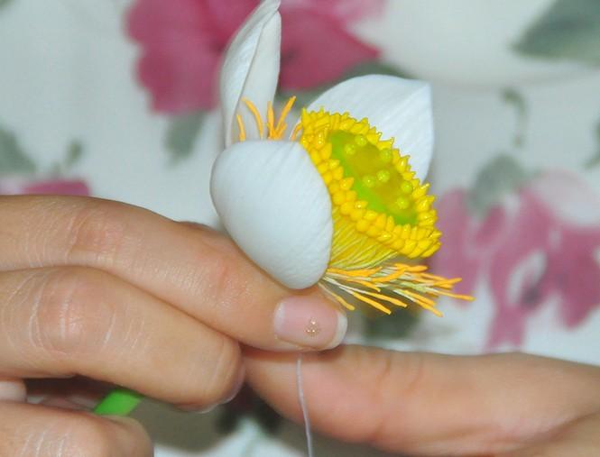 Tình yêu hoa từ đất sét của nữ thạc sỹ 9X ở Cần Thơ - ảnh 5